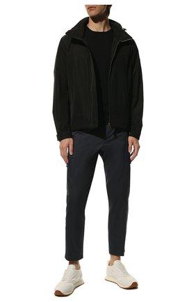 Мужская куртка BURBERRY черного цвета, арт. 8014363 | Фото 2