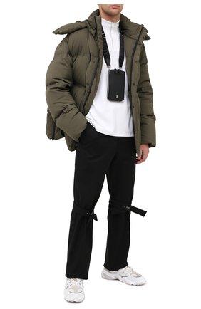 Мужского кожаный чехол для iphone BURBERRY черного цвета, арт. 8028232 | Фото 2