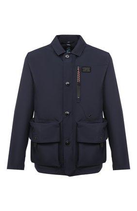 Мужская куртка BURBERRY темно-синего цвета, арт. 8028656 | Фото 1