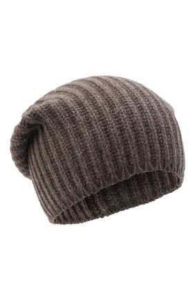 Мужская кашемировая шапка SVEVO темно-бежевого цвета, арт. 0188SA20/MP01/2   Фото 1