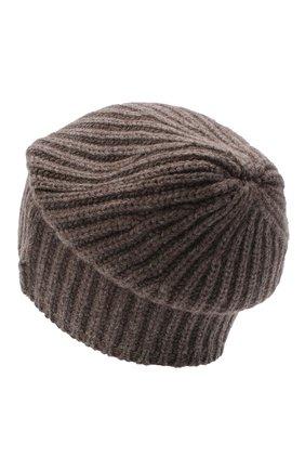 Мужская кашемировая шапка SVEVO темно-бежевого цвета, арт. 0188SA20/MP01/2   Фото 2