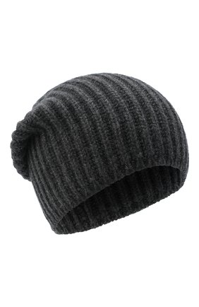 Мужская кашемировая шапка SVEVO темно-серого цвета, арт. 0188SA20/MP01/2 | Фото 1