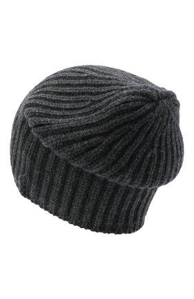Мужская кашемировая шапка SVEVO темно-серого цвета, арт. 0188SA20/MP01/2 | Фото 2