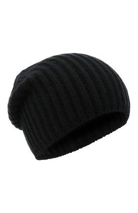 Мужская кашемировая шапка SVEVO черного цвета, арт. 0188SA20/MP01/2 | Фото 1