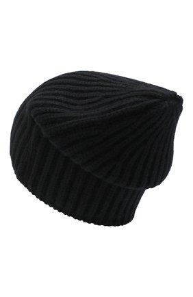 Мужская кашемировая шапка SVEVO черного цвета, арт. 0188SA20/MP01/2 | Фото 2