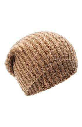 Мужская кашемировая шапка SVEVO бежевого цвета, арт. 0188SA20/MP01/2   Фото 1