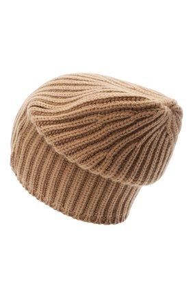 Мужская кашемировая шапка SVEVO бежевого цвета, арт. 0188SA20/MP01/2   Фото 2