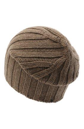 Мужская кашемировая шапка FIORONI темно-бежевого цвета, арт. MK10I1042 | Фото 2