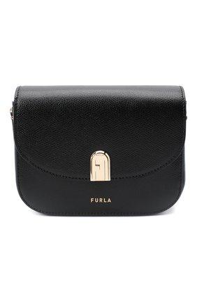 Женская сумка furla 1927 FURLA черного цвета, арт. BAONACO/ARE000 | Фото 1