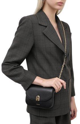 Женская сумка furla 1927 FURLA черного цвета, арт. BAONACO/ARE000 | Фото 2
