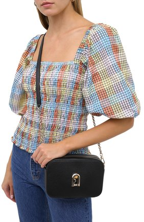 Женская сумка sleek mini FURLA черного цвета, арт. BARXABR/HSF000 | Фото 2