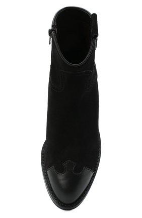 Женские кожаные ботинки western SEE BY CHLOÉ черного цвета, арт. SB35041A/12080 | Фото 5