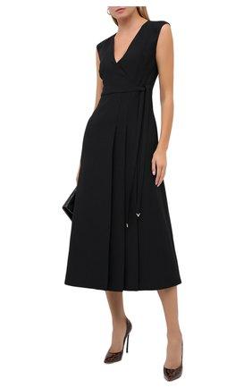 Женская кожаные туфли jolly blade CASADEI коричневого цвета, арт. 1F410D125TJUNGL7701 | Фото 2