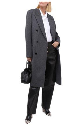 Женские кожаные ботильоны CASADEI черного цвета, арт. 1Q903N060GC08699000 | Фото 2