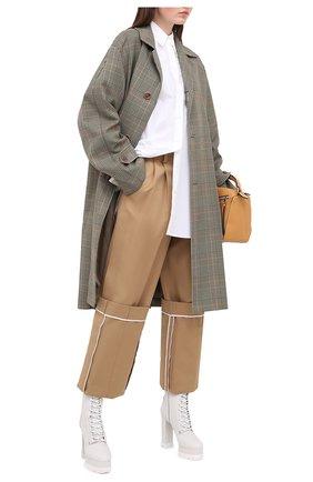 Женские кожаные ботильоны CASADEI белого цвета, арт. 1R133N1201L0VEC9999 | Фото 2