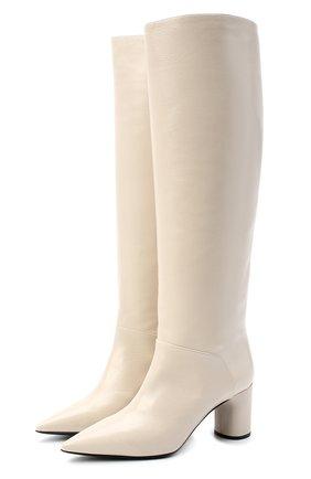 Женские кожаные сапоги CASADEI белого цвета, арт. 1S034N06018SENS3217 | Фото 1