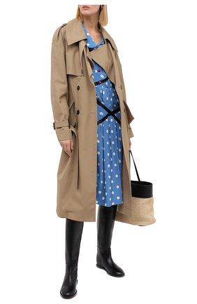 Женские кожаные сапоги CASADEI черного цвета, арт. 1S096R0301C10639000 | Фото 2
