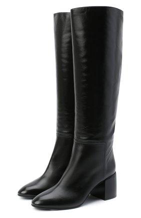 Женские кожаные сапоги CASADEI черного цвета, арт. 1S120R060G8SENS9000 | Фото 1