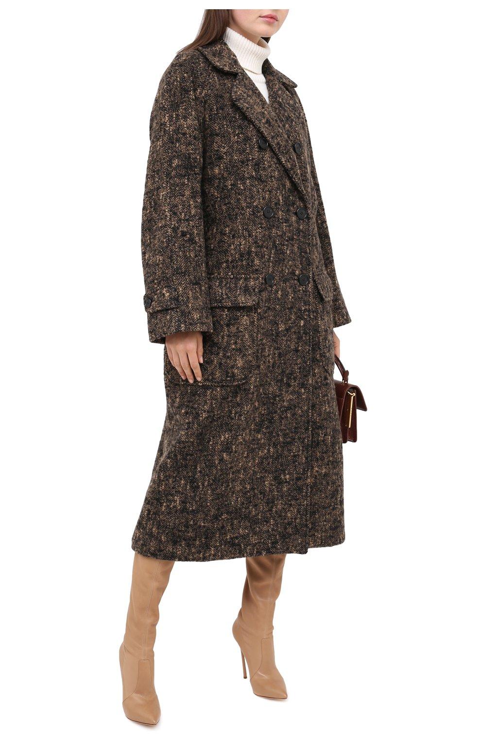 Женские кожаные ботфорты blade CASADEI бежевого цвета, арт. 1T000D125HHNAGU3113 | Фото 2