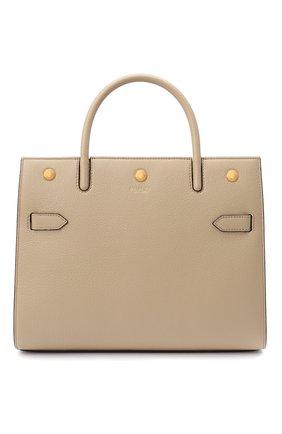 Женская сумка title BURBERRY бежевого цвета, арт. 8024689 | Фото 1
