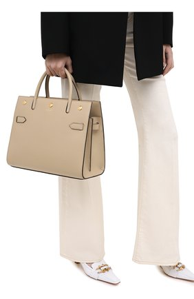 Женская сумка title BURBERRY бежевого цвета, арт. 8024689 | Фото 2