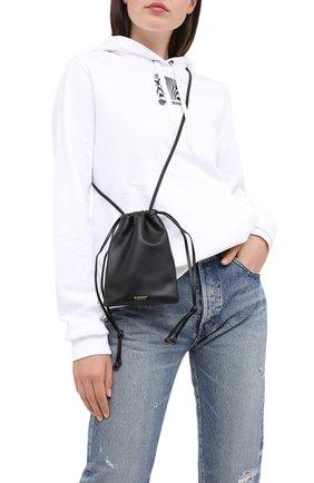 Женская сумка BURBERRY черного цвета, арт. 8030365 | Фото 2
