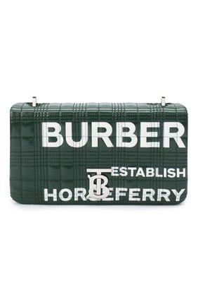 Женская сумка lola small BURBERRY темно-зеленого цвета, арт. 8031620 | Фото 1
