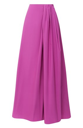 Женская юбка-макси VALENTINO фуксия цвета, арт. UB3RA6304H2   Фото 1