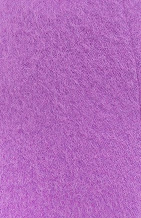 Женская шерстяная юбка VALENTINO фуксия цвета, арт. UB3KG01R5P2 | Фото 5