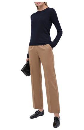 Женская пуловер из кашемира и шелка VALENTINO темно-синего цвета, арт. UB3KC16Z5S7 | Фото 2