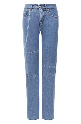 Женские джинсы MM6 синего цвета, арт. S52LA0132/S30460   Фото 1