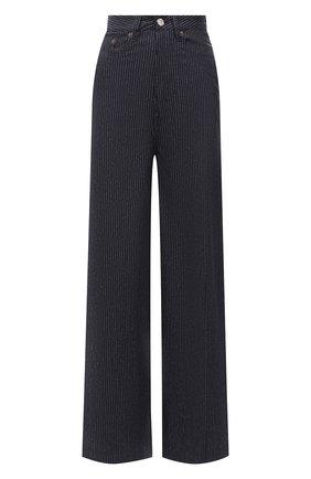 Женские джинсы MM6 черного цвета, арт. S52LA0136/S53085   Фото 1