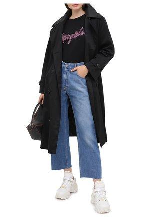 Женские джинсы MM6 голубого цвета, арт. S52LA0137/S30460 | Фото 2