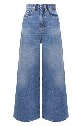 Женские джинсы MM6 синего цвета, арт. S52LA0141/S30460 | Фото 1