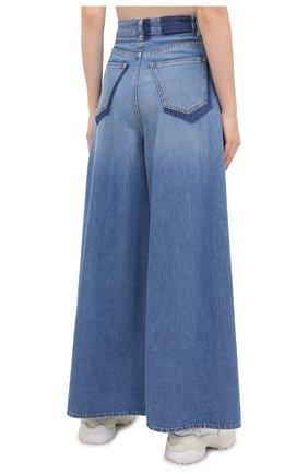 Женские джинсы MM6 синего цвета, арт. S52LA0141/S30460 | Фото 4