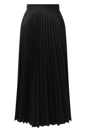 Женская юбка MM6 черного цвета, арт. S52MA0095/S53057   Фото 1