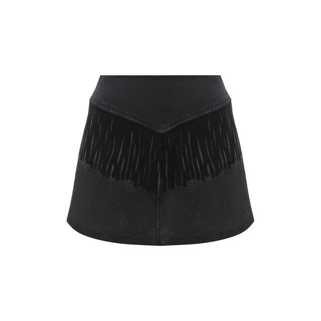 Шерстяная юбка Mm6