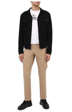 Мужская джинсовая куртка DOLCE & GABBANA черного цвета, арт. G9JC2D/G8CN9 | Фото 2