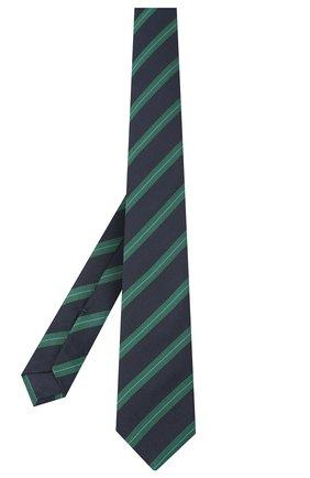 Детский шелковый галстук DAL LAGO синего цвета, арт. N300/7744/III | Фото 2