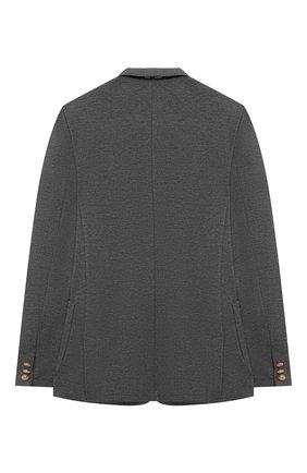Детский пиджак DAL LAGO серого цвета, арт. N035/8111/7-12 | Фото 2