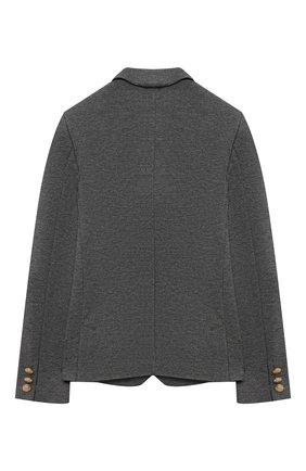 Детский пиджак DAL LAGO серого цвета, арт. N035/8111/4-6 | Фото 2
