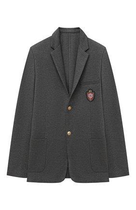 Детский пиджак DAL LAGO серого цвета, арт. N035M/8111/17/L-18/XL | Фото 1