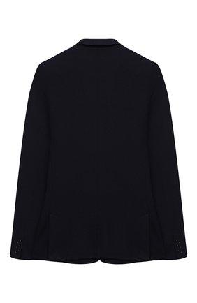 Детский хлопковый пиджак DAL LAGO темно-синего цвета, арт. N068S/8855/7-12 | Фото 2