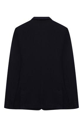 Детский хлопковый пиджак DAL LAGO темно-синего цвета, арт. N068S/8855/13-16 | Фото 2