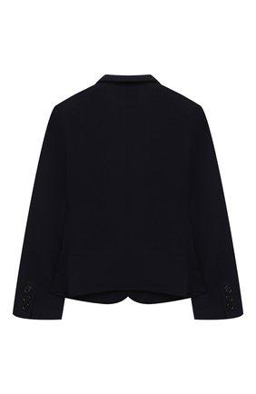 Детский хлопковый пиджак DAL LAGO темно-синего цвета, арт. N068S/8855/4-6 | Фото 2