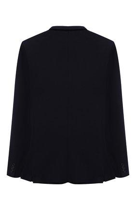 Детский хлопковый пиджак DAL LAGO темно-синего цвета, арт. N068SM/8855/17/L-18/XL | Фото 2