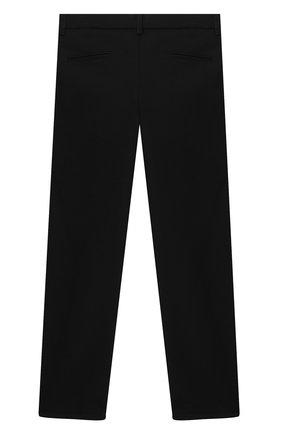 Детские брюки ALETTA черного цвета, арт. AM000594N/9A-16A | Фото 2