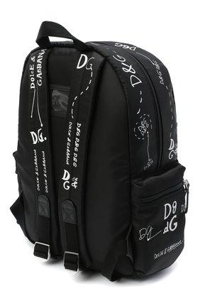Детская рюкзак DOLCE & GABBANA черно-белого цвета, арт. EM0084/AS772 | Фото 2