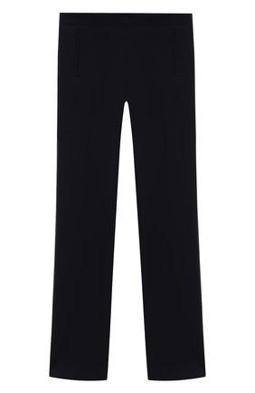 Детского хлопковые брюки DAL LAGO синего цвета, арт. R215A/8945/13-16 | Фото 1