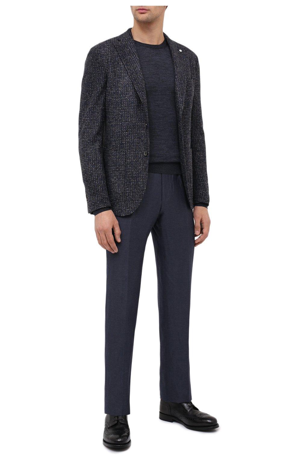 Мужские кожаные дерби ALEXANDER HOTTO черного цвета, арт. 58020/RIDER | Фото 2